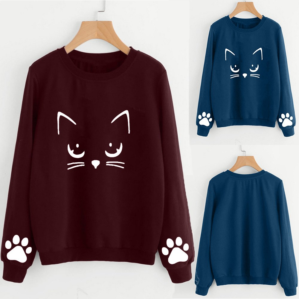 Sweet Kitty Paws Sweater (2 Colors)