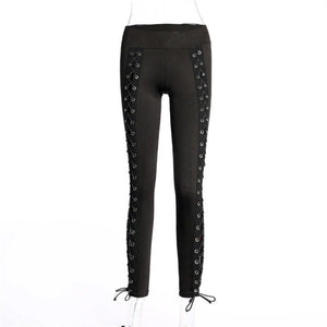 Front Laced Leggings