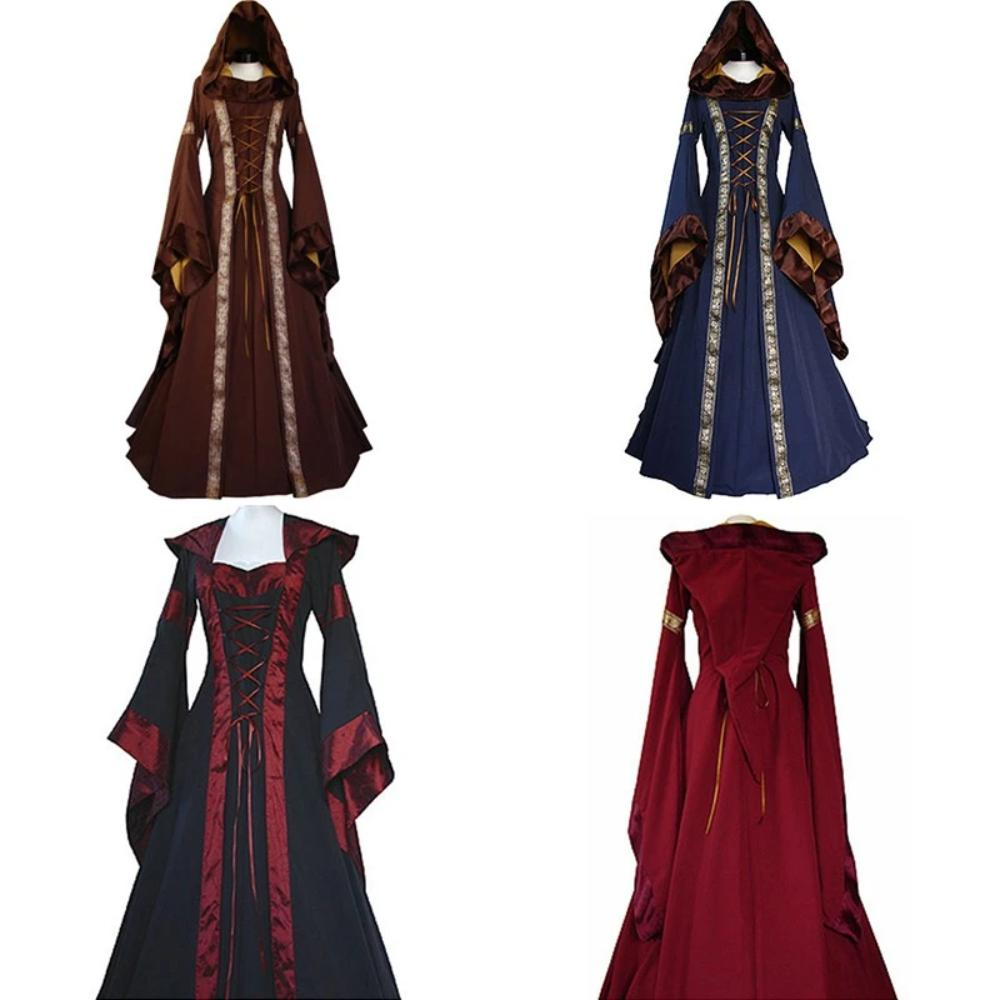 Victorian Dress Style 1 (4 Variants)
