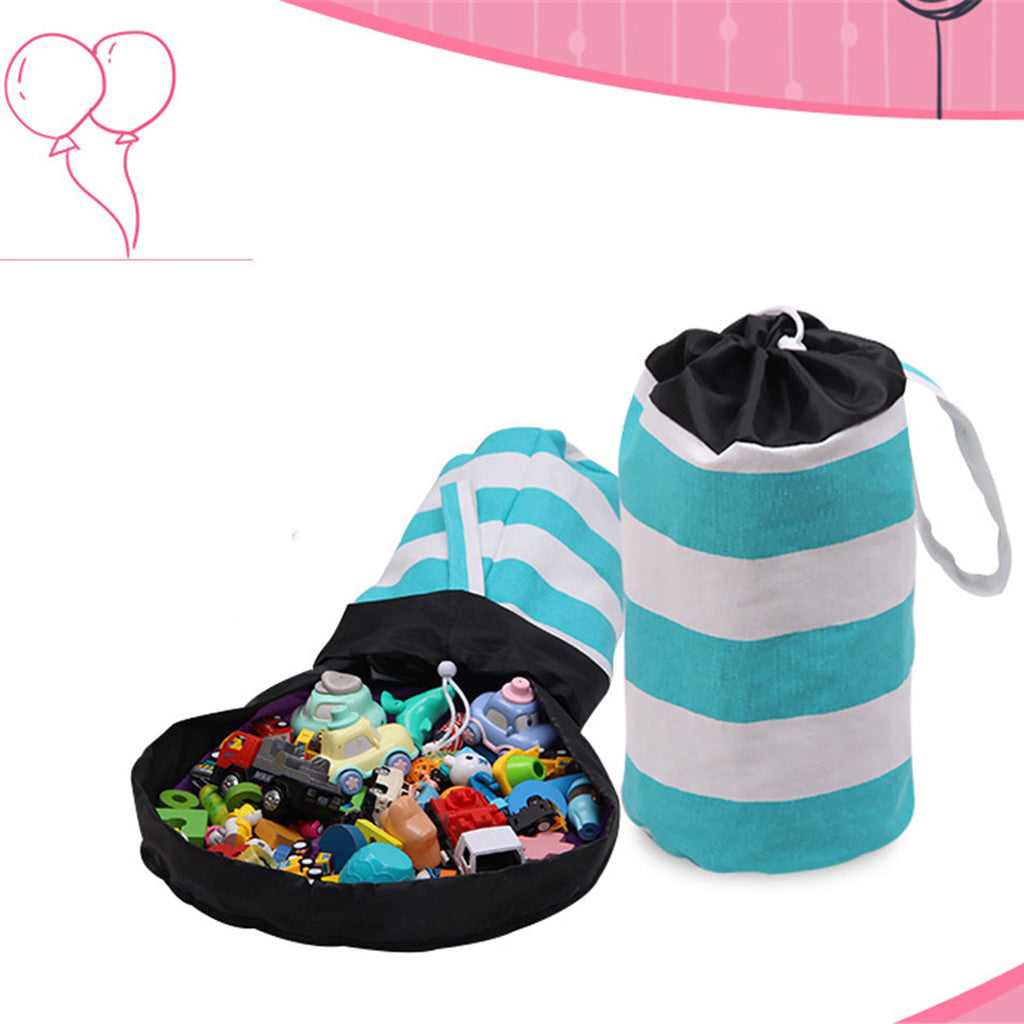 Play Bucket Mat Storage Bag for Building Blocks Display (3 Sizes) 10 Designs