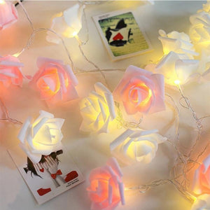 Enchanted Rose Tree Garland String Lights (4 Colors) USB or Battery 1.5/3/4.5/6m