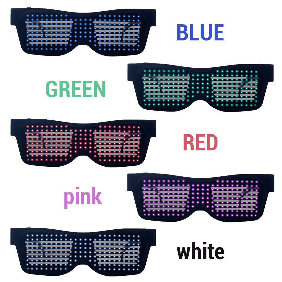 Magic Bluetooth LED Party Glasses (5 colors)