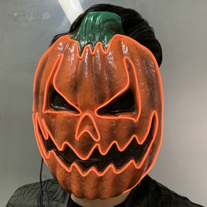 Pumpkin LED Purge Halloween Mask