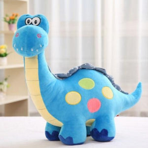 Long Neck Dino Pillow Plush 3D Stuffed Animal Brachiosaurus (3 Colors) 20cm
