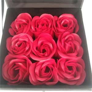 9 Immortal Enchanted Roses Jewelry Box (4 Colors)