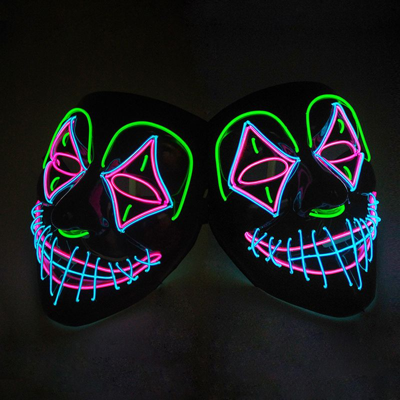 Clown LED Purge Halloween Mask