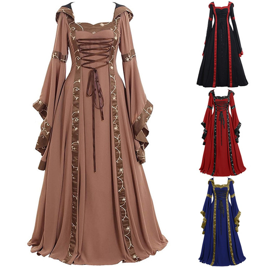 Victorian Dress Style 3 (4 Variants) S-5XL
