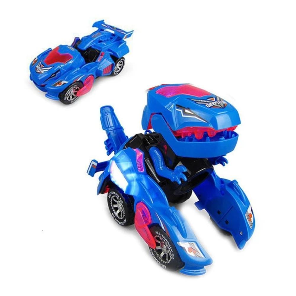 LED Dinosaur Transformation Car Toy (3 Colors)