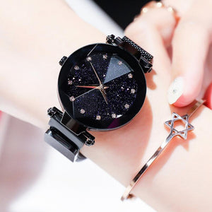 Luxury Starry Sky Women's Watch Stainless Steel Magnetic Band  (18 Colors)
