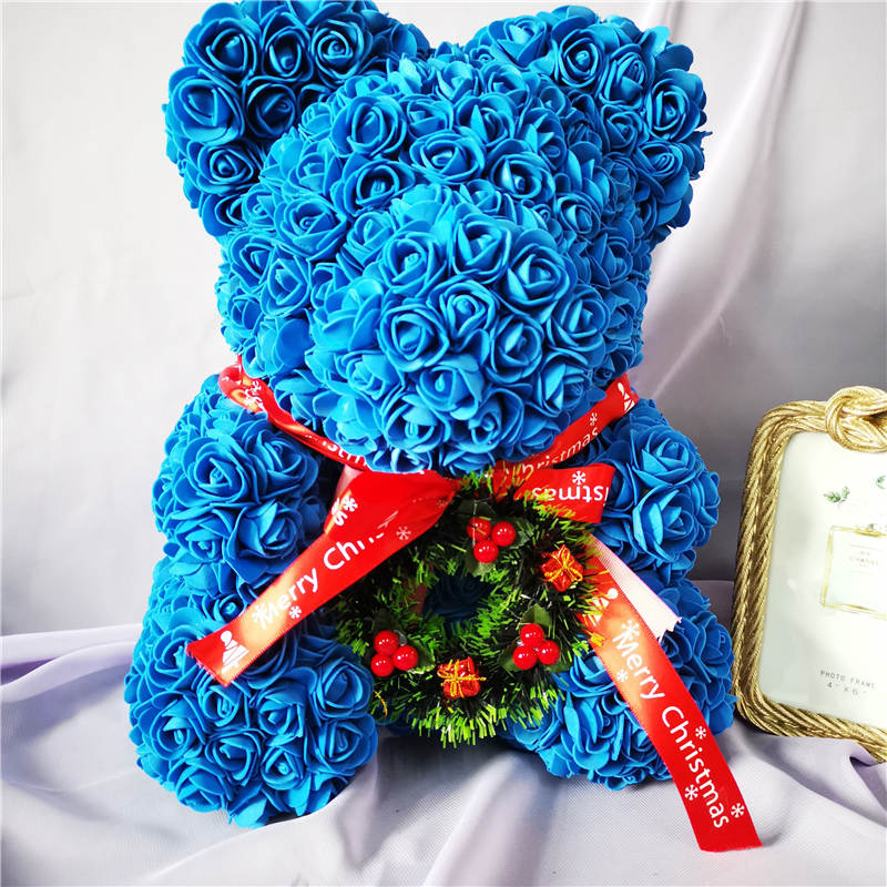 Christmas Enchanted Forever Rose Teddy Bear XL (32 Designs)