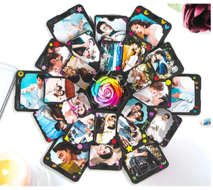 DIY Hexagon Photo Explosion Box Photo Album (15 Styles)