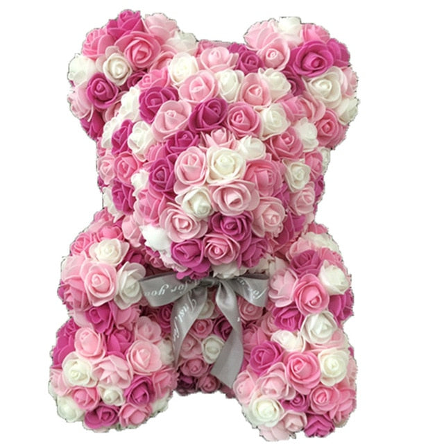 Enchanted Forever Rose Teddy Bear Reindeer Plaid (29 Designs)