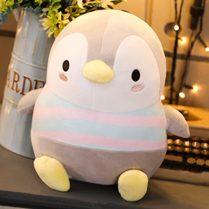Chunk Penguin Pillow Plush 3D Stuffed Animal (3 Sizes)