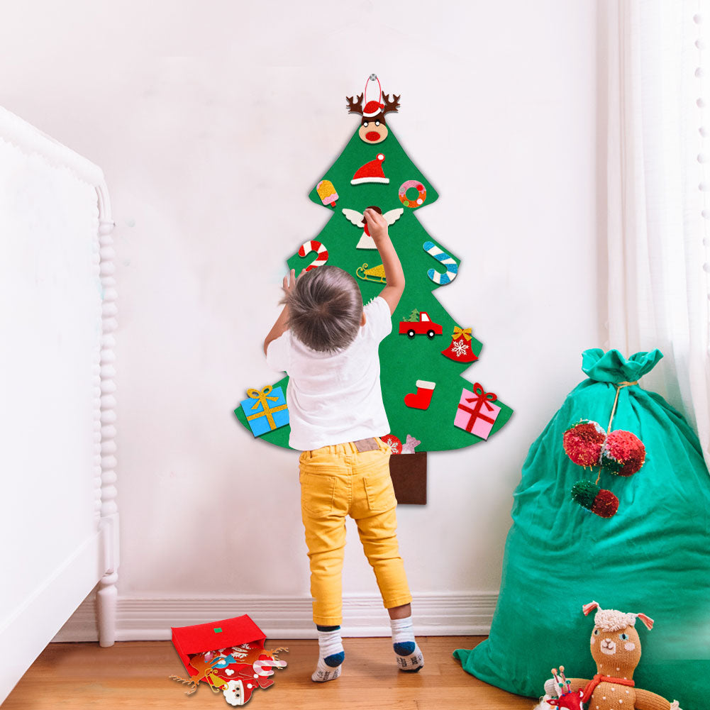 DIY 3D Felt Christmas Tree (5 Designs) Fast Shipping
