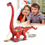 Electronic LED Walking Long Neck Dinosaur Brachiosaurus Lays Eggs (Red or Green)