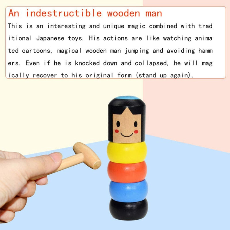 Mr. Immortal Wooden Magic Toy 2 Pack
