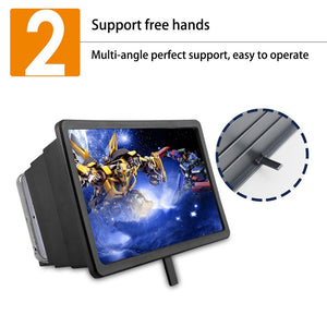 XXL Jumbo 3D Portable Universal Foldable Screen Amplifier (iOs or Android)