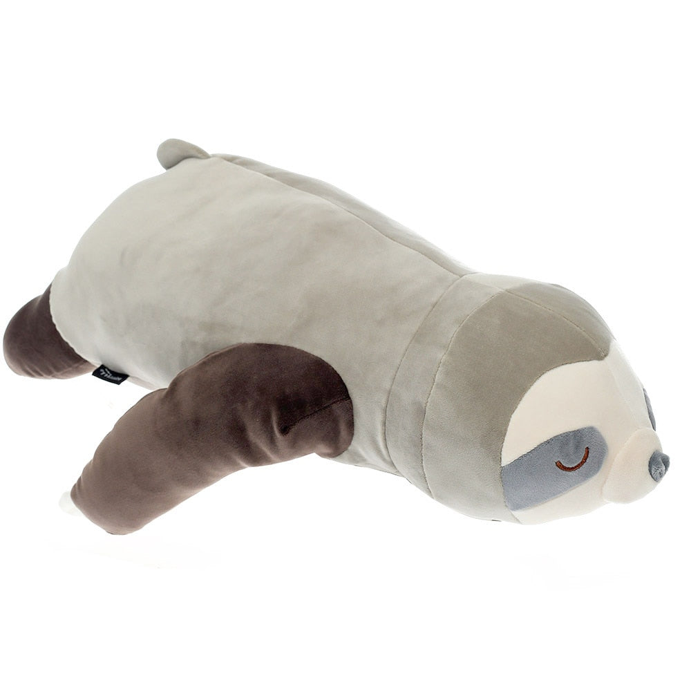 Sloth Pillow Plush 3D Stuffed Animal (2 Colors) 65/80/100cm