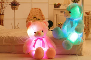 Glow Bear LED Light Up Plush 3D Stuffed Animal (4 Colors) 50cm