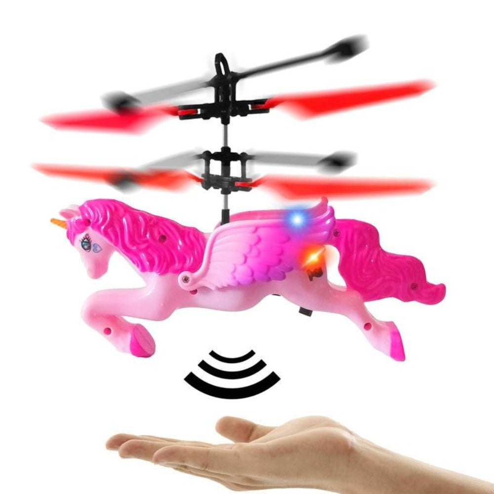 Unicorn Pegasus Gesture Sensing Quad-copter Induction