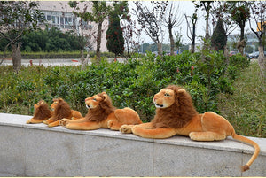 Lion Pillow Plush 3D Stuffed Animal (4 Sizes)