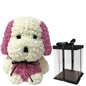 Enchanted Forever Rose Puppy Dog Plush (27 Variants)