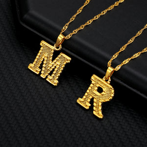 Personalized Letter Initial Custom Necklace