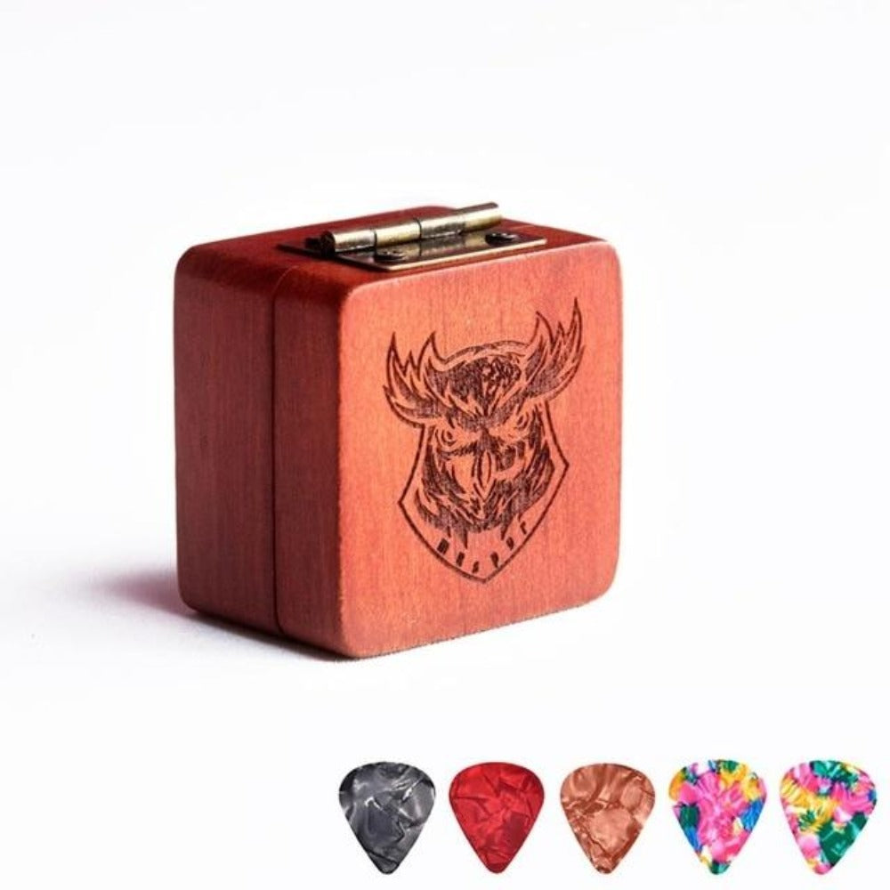 I Pick You - Wooden Guitar Picks & Box (11 Styles)