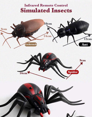 Remote Control Giant Bug (Spider, Roach or Ant)