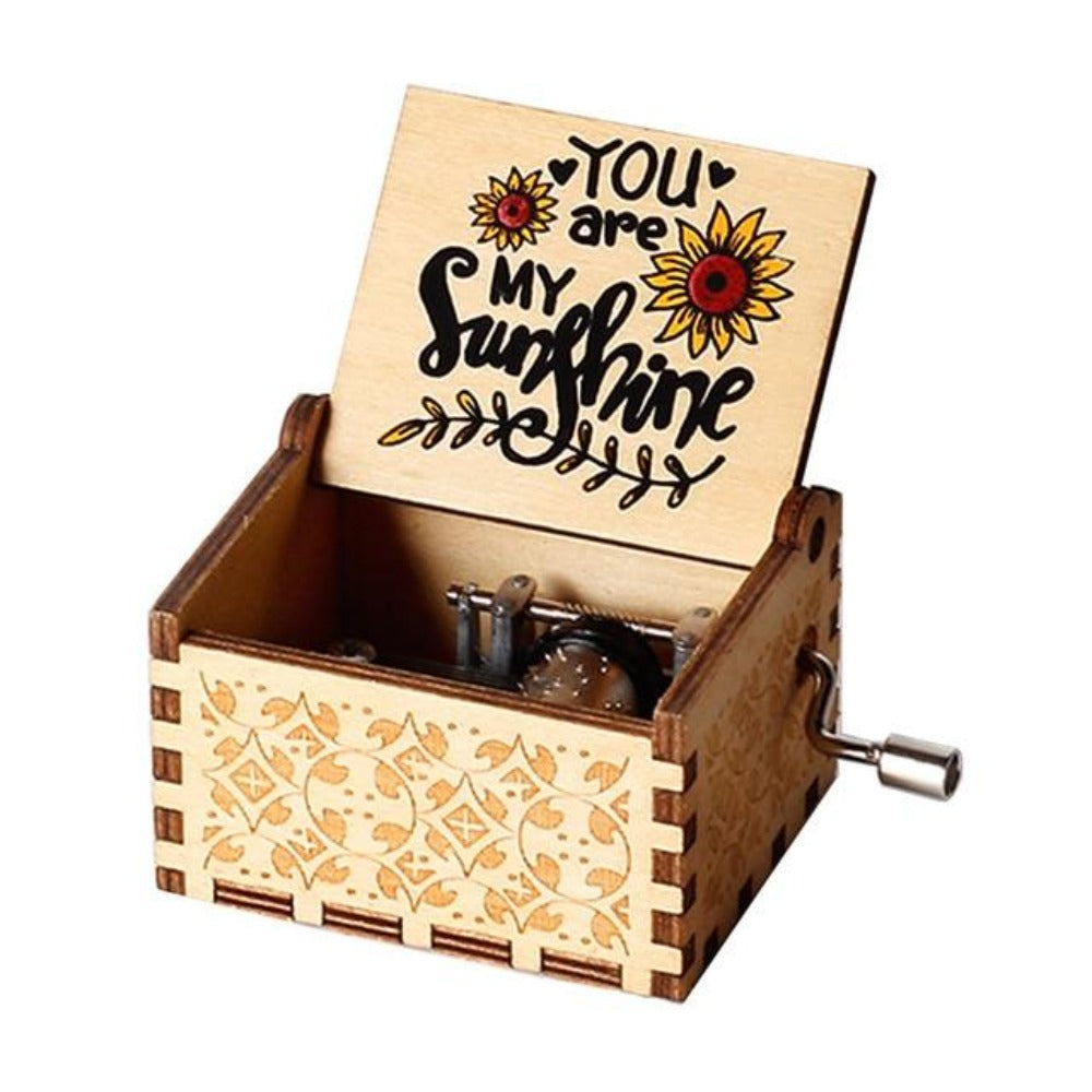 You Are My Sunshine - Engraved Music Box (4 styles)