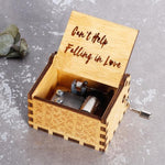 Can't Help Falling In Love - Engraved Music Box