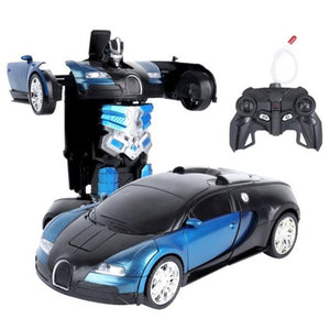 New 2020 Remote Control Robot One Button Transformation Car Toy (26 Colors)
