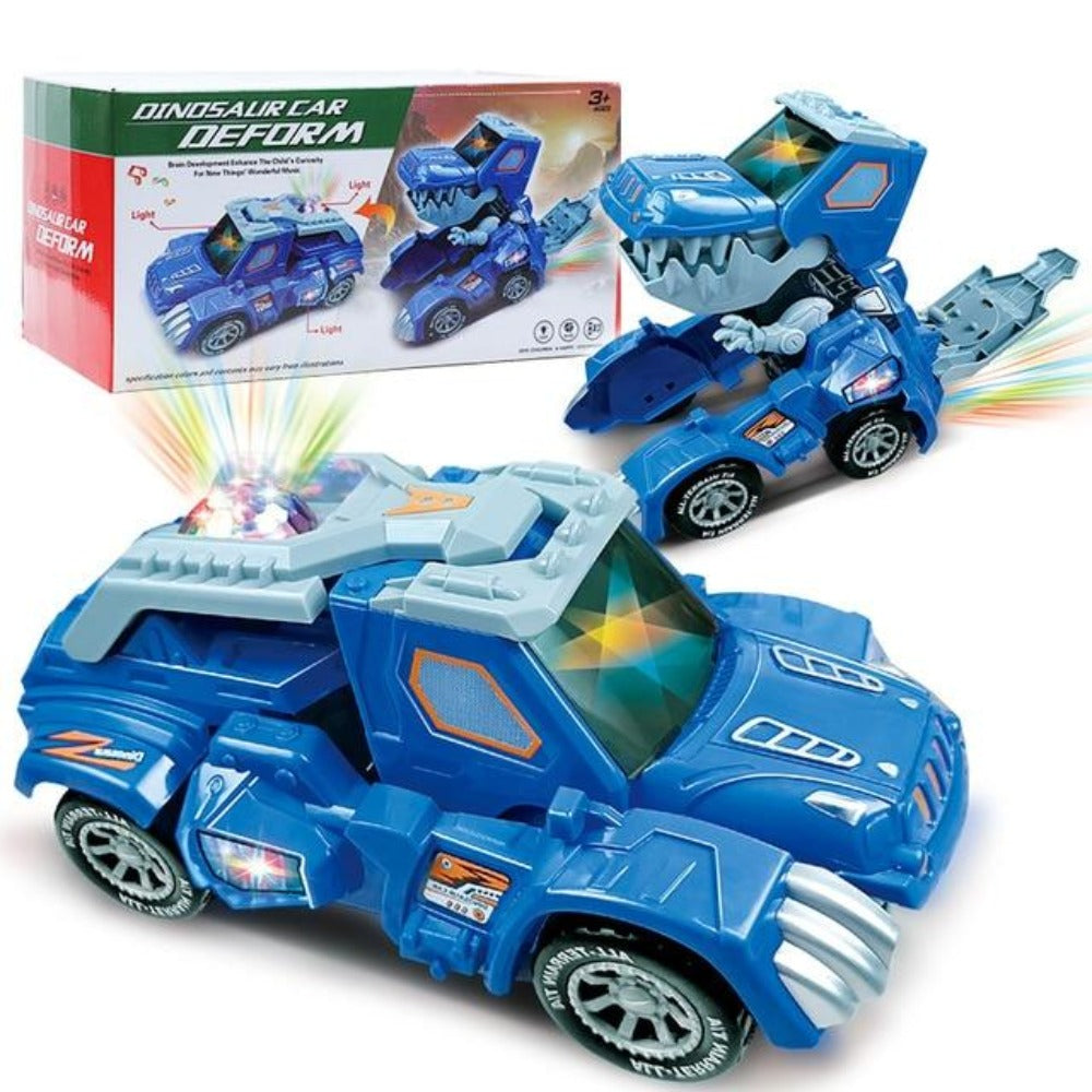 2020 LED Dinosaur Transformation Car Jeep Toy (2 Colors)