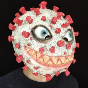 Virus Halloween Mask (Green or Red)