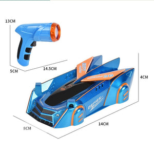 Follow by Light Anti Gravity Wall Climbing RC Car Toy (3 Colors)