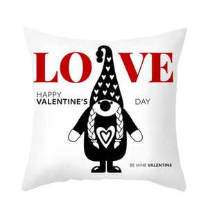 Gnome Home Pillow Case Cover (24 Designs) Valentines Special