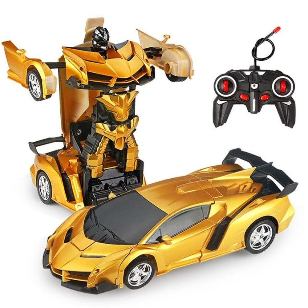 New 2020 Remote Control Robot One Button Transformation Car Toy (26 Designs)
