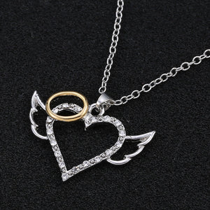 Nice Angel Heart Necklace