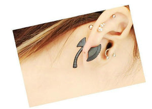 3D Axe Earring Set