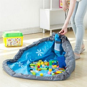 Giant Play Mat Storage Bag for Building Blocks Display