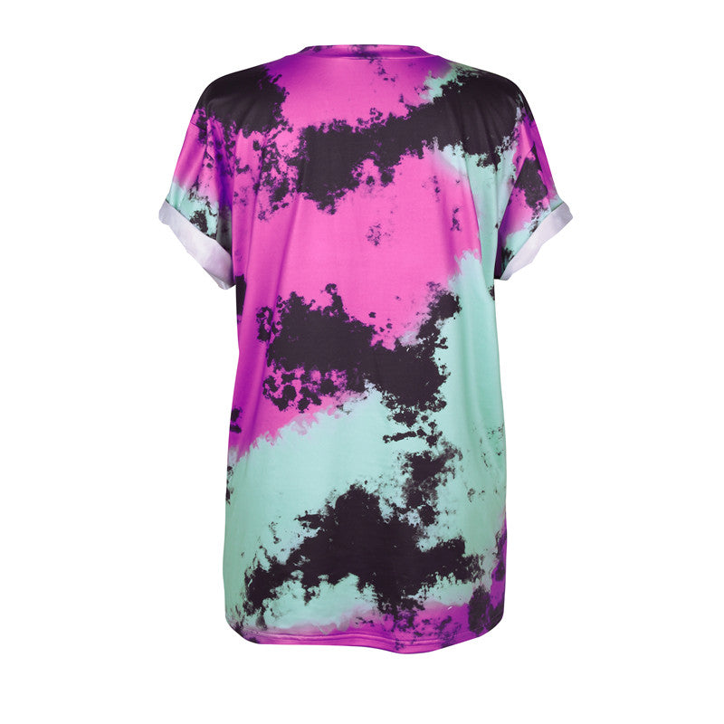 Oh Well Spiral Tie Dyed T-Shirt