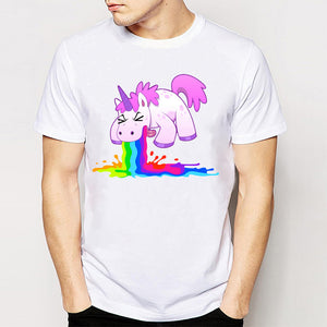 Kawaii Unicorn Puke T-Shirt