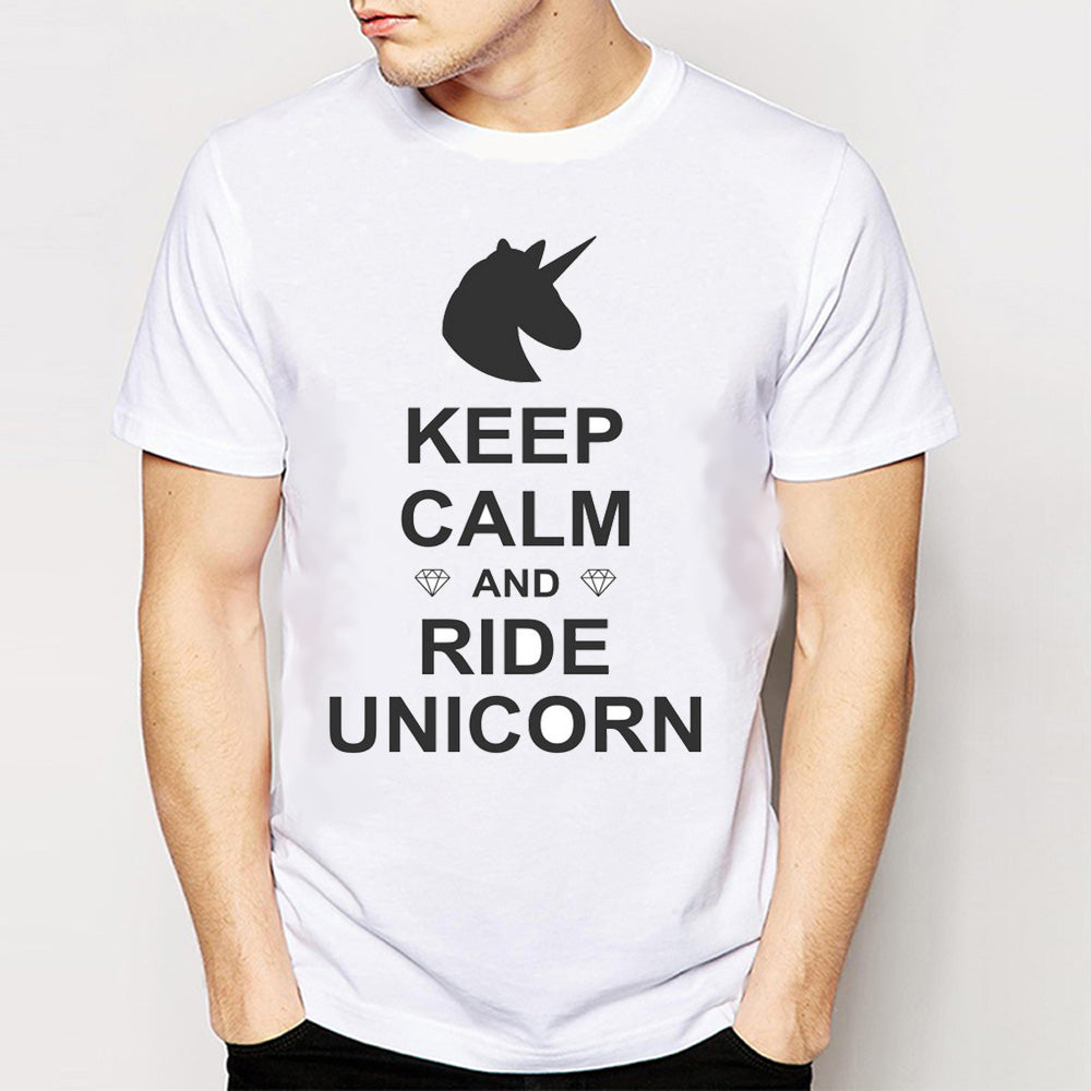 Keep Calm and Ride Unicorn T-Shirt