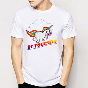 Be Yourself Unicorn T-Shirt