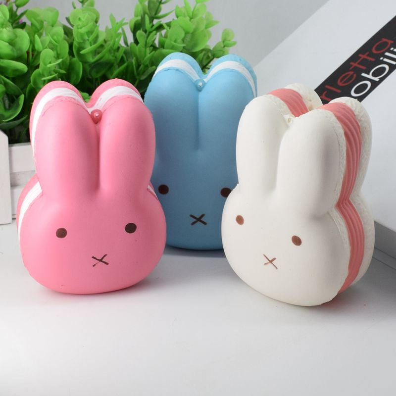 Jumbo Bunny Macaroon Squishy ( 3 Colors)