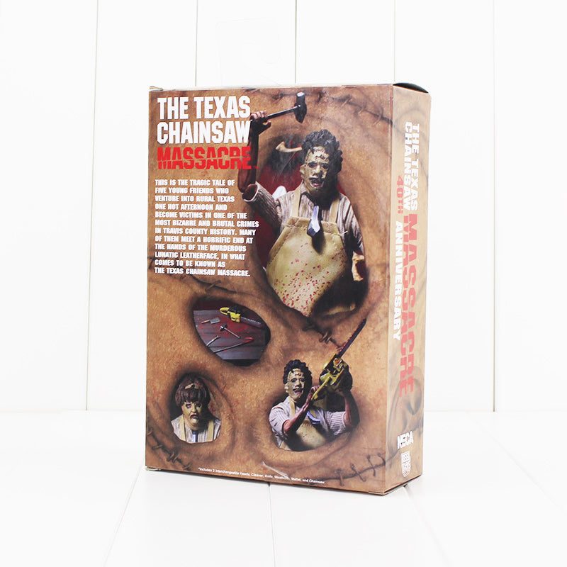NECA 40th The Texas ChainSaw Massacre Action Figure Leatherface