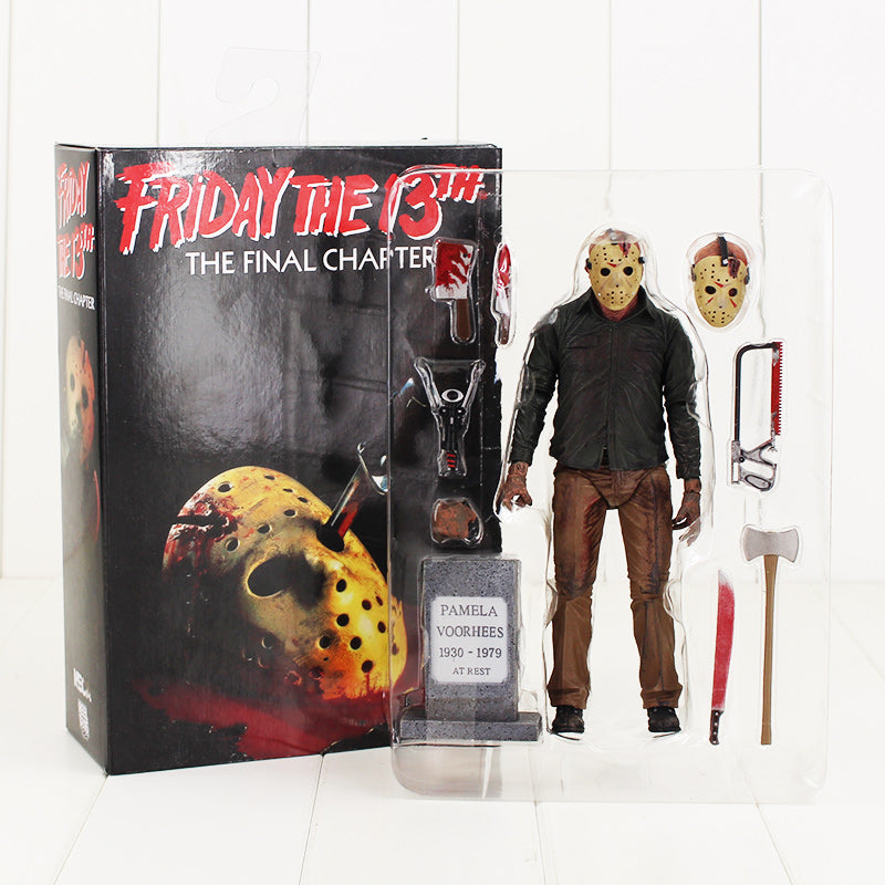 NECA Friday The 13th Jason Voorhees Action Figure The Final Chapter