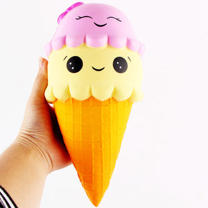 XL Jumbo Ice Cream Cone Squishy