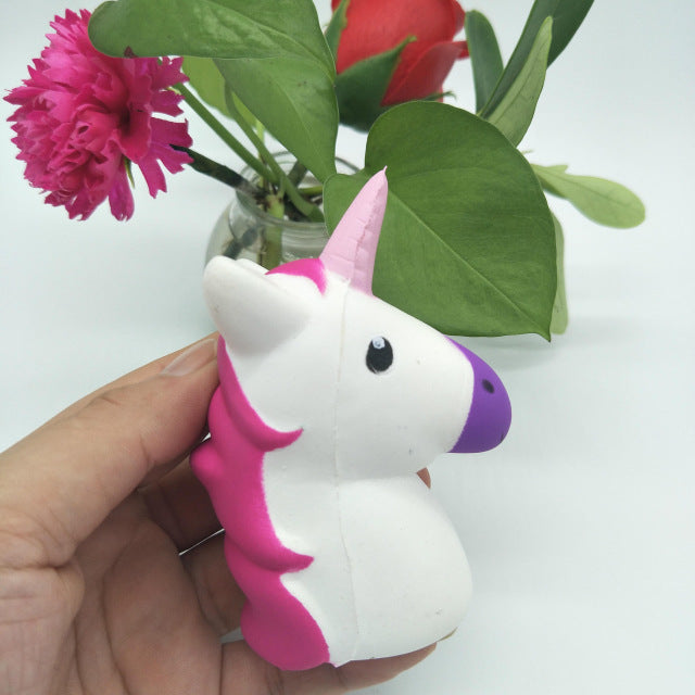 Kawaii Unicorn Head Squishy