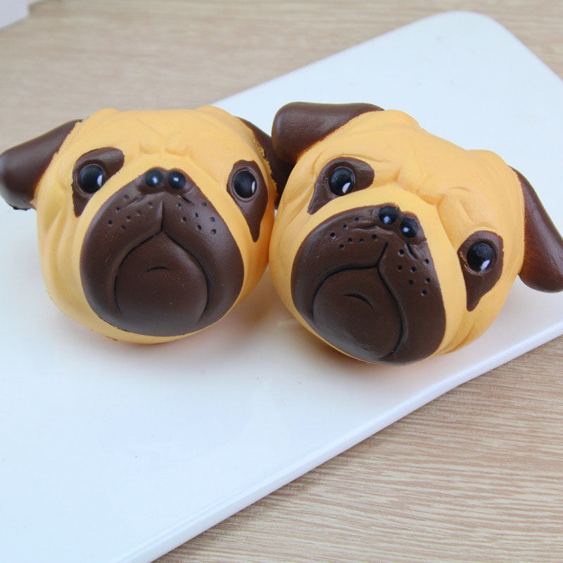 Kawaii Pug Dog Squishy